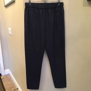 04620deb225 THEORY Navy Blue Women Wool Pants Size Medium